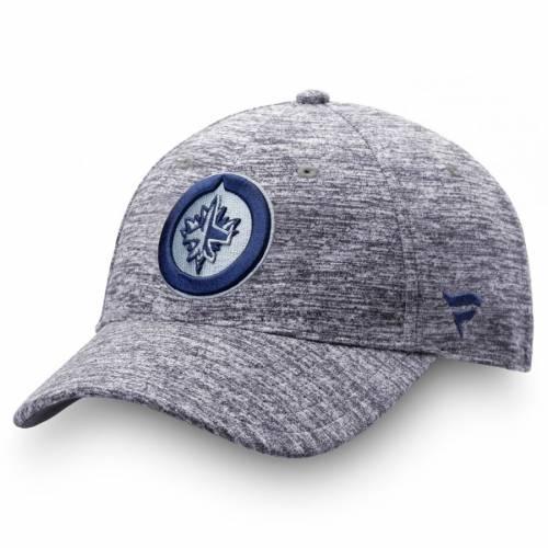 FANATICS BRANDED ジェッツ オーセンティック プロ 紺 ネイビー バッグ キャップ 帽子 メンズキャップ メンズ 【 Winnipeg Jets Authentic Pro Clutch Adjustable Hat - Navy 】 Navy
