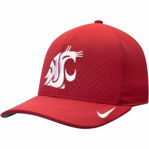 ナイキ NIKE ワシントン スケートボード クラシック サイドライン パフォーマンス バッグ キャップ 帽子 メンズキャップ メンズ 【 Washington State Cougars Classic 99 Sideline Performance Flex Hat - Crim