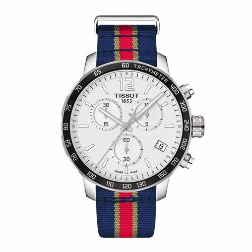 TISSOT スペシャル ウォッチ 時計 【 SPECIAL WATCH TISSOT NEW ORLEANS PELICANS QUICKSTER EDITION COLOR 】 腕時計 メンズ腕時計