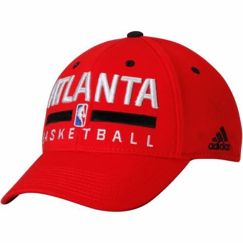 アディダス ADIDAS アトランタ ホークス プラクティス 赤 レッド バッグ キャップ 帽子 メンズキャップ メンズ 【 Atlanta Hawks Practice Flex Hat - Red 】 Red