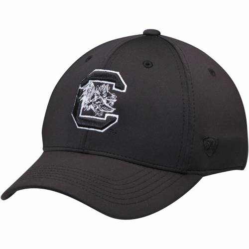 TOP OF THE WORLD カロライナ 黒 ブラック バッグ キャップ 帽子 メンズキャップ メンズ 【 South Carolina Gamecocks Tension Flex Hat - Black 】 Black