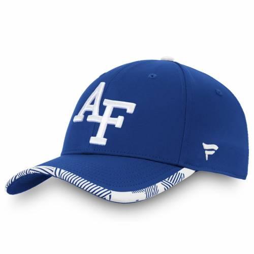 FANATICS BRANDED エア ファルコンズ バッグ キャップ 帽子 メンズキャップ メンズ 【 Air Force Falcons Iconic Flex Hat - Royal/white 】 Royal/white