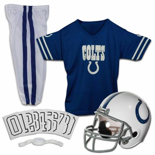 FRANKLIN SPORTS インディアナポリス コルツ 子供用 デラックス キッズ ベビー マタニティ ジュニア 【 Indianapolis Colts Youth Deluxe Uniform Set 】 Color