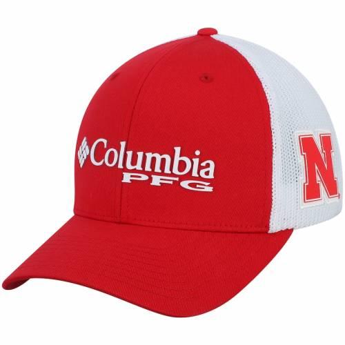 コロンビア COLUMBIA バッグ キャップ 帽子 メンズキャップ メンズ 【 Nebraska Cornhuskers Collegiate Pfg Flex Hat - Scarlet 】 Scarlet