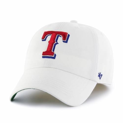 '47 テキサス レンジャーズ フランチャイズ 白 ホワイト バッグ キャップ 帽子 メンズキャップ メンズ 【 Texas Rangers Mlb Franchise Fitted Hat - White 】 White