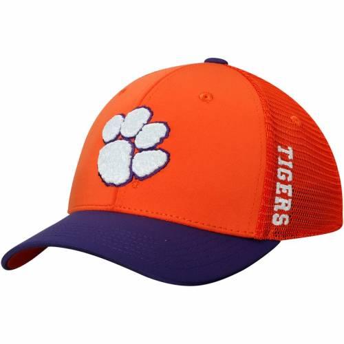 TOP OF THE WORLD タイガース 橙 オレンジ バッグ キャップ 帽子 メンズキャップ メンズ 【 Clemson Tigers Chatter Meshback Flex Hat - Orange 】 Orange