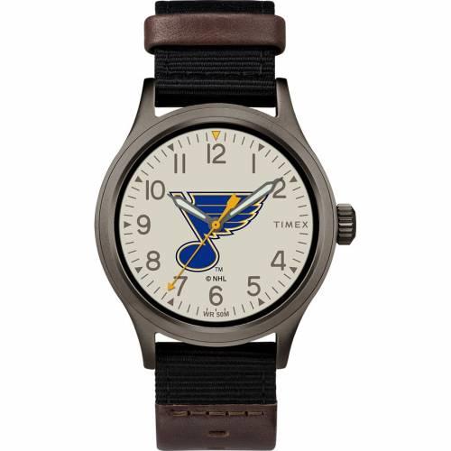 TIMEX タイメックス ウォッチ 時計 ST. 【 WATCH TIMEX LOUIS BLUES CLUTCH COLOR 】 腕時計 メンズ腕時計
