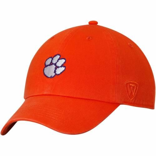 TOP OF THE WORLD タイガース ポール 橙 オレンジ バッグ キャップ 帽子 メンズキャップ メンズ 【 Clemson Tigers Ncaa Paul Adjustable Dad Hat - Orange 】 Orange