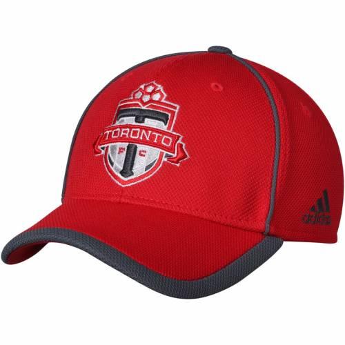 アディダス ADIDAS トロント 赤 レッド バッグ キャップ 帽子 メンズキャップ メンズ 【 Toronto Fc Cut And Sew Structured Adjustable Hat - Red 】 Red