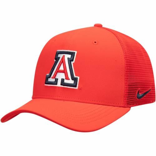 ナイキ NIKE アリゾナ スウッシュ スウォッシュ パフォーマンス 赤 レッド バッグ キャップ 帽子 メンズキャップ メンズ 【 Arizona Wildcats Aerobill Meshback Swoosh Performance Flex Hat - Red 】 Red