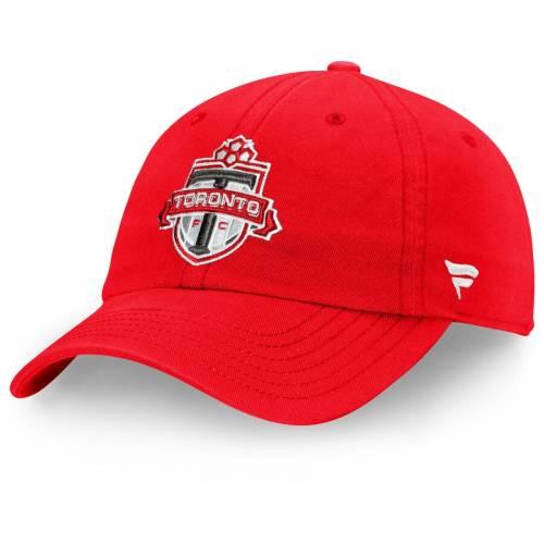 FANATICS BRANDED トロント 赤 レッド バッグ キャップ 帽子 メンズキャップ メンズ 【 Toronto Fc Fundamental Adjustable Hat - Red 】 Red