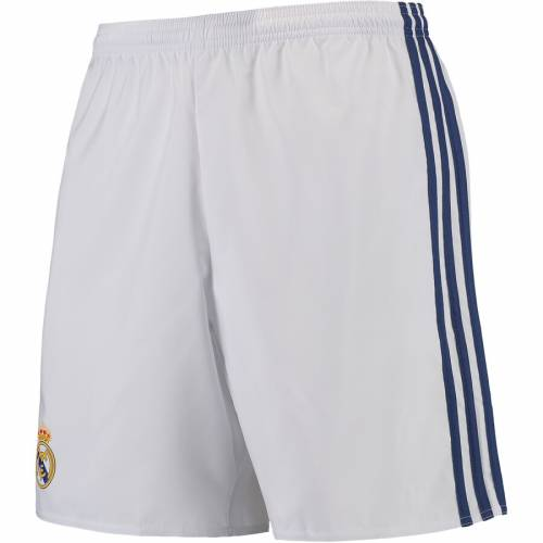 アディダス ADIDAS クリーマクール ショーツ ハーフパンツ 白 ホワイト メンズファッション ズボン パンツ メンズ 【 Real Madrid Home Climacool Shorts - White 】 White