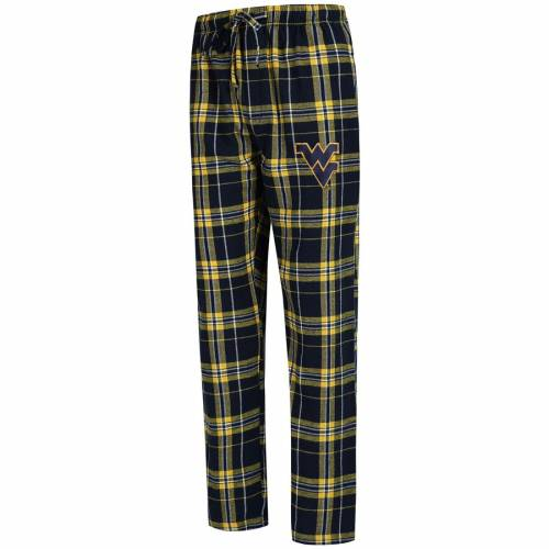 CONCEPTS SPORT バージニア 紺 ネイビー インナー 下着 ナイトウエア メンズ ナイト ルーム パジャマ 【 West Virginia Mountaineers Big And Tall Hillstone Flannel Pants - Navy 】 Navy