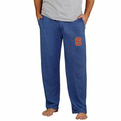 CONCEPTS SPORT シラキュース 橙 オレンジ ニット チャコール インナー 下着 ナイトウエア メンズ ナイト ルーム パジャマ 【 Syracuse Orange Quest Knit Pants - Charcoal 】 Navy