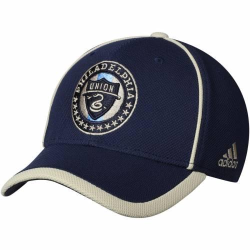 アディダス ADIDAS フィラデルフィア ユニオン 紺 ネイビー バッグ キャップ 帽子 メンズキャップ メンズ 【 Philadelphia Union Cut And Sew Structured Adjustable Hat - Navy 】 Navy
