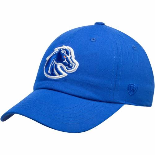 TOP OF THE WORLD スケートボード ブロンコス ロゴ バッグ キャップ 帽子 メンズキャップ メンズ 【 Boise State Broncos Primary Logo Staple Adjustable Hat - Royal 】 Royal