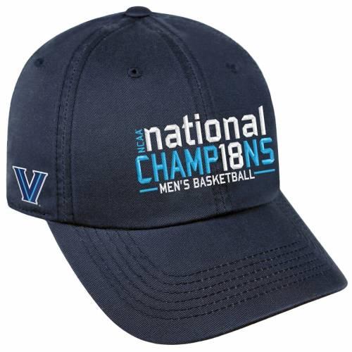 TOP OF THE WORLD ビラノバ メンズ バスケットボール ボックス 紺 ネイビー バッグ キャップ 帽子 メンズキャップ 【 Villanova Wildcats 2018 Ncaa Mens Basketball National Champions Box Crew Adjustable Hat - Navy