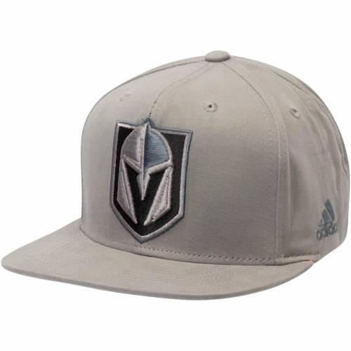 アディダス ADIDAS 灰色 グレー グレイ バッグ キャップ 帽子 メンズキャップ メンズ 【 Vegas Golden Knights Tonal Knights Adjustable Hat - Gray 】 Gray