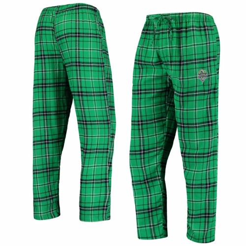 CONCEPTS SPORT シアトル アルティメイト インナー 下着 ナイトウエア メンズ ナイト ルーム パジャマ 【 Seattle Sounders Fc Ultimate Flannel Sleep Pants - Rave Green/navy 】 Rave Green/navy