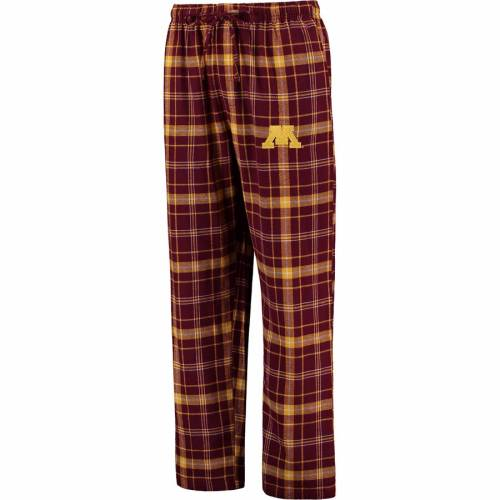 CONCEPTS SPORT ミネソタ アルティメイト インナー 下着 ナイトウエア メンズ ナイト ルーム パジャマ 【 Minnesota Golden Gophers Big And Tall Ultimate Flannel Pants - Maroon 】 Maroon