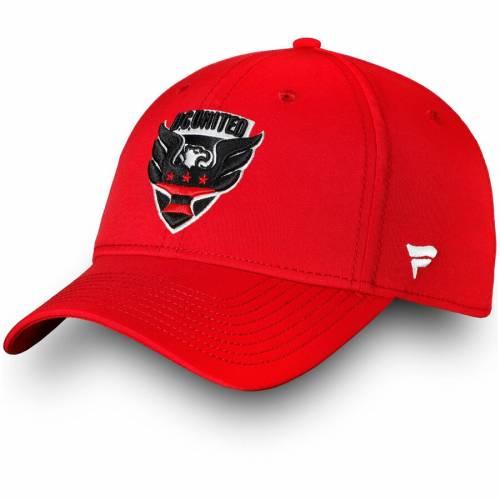 FANATICS BRANDED スピード 赤 レッド D.c. バッグ キャップ 帽子 メンズキャップ メンズ 【 D.c. United Elevated Speed Flex Hat - Red 】 Red