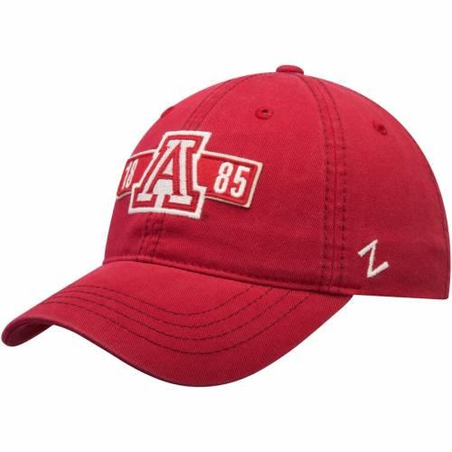 ZEPHYR アリゾナ アルファ 赤 レッド バッグ キャップ 帽子 メンズキャップ メンズ 【 Arizona Wildcats Alpha Unstructured Adjustable Hat - Red 】 Red
