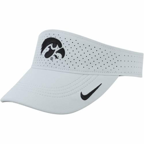 ナイキ NIKE サイドライン パフォーマンス 銀色 シルバー バッグ キャップ 帽子 メンズキャップ メンズ 【 Iowa Hawkeyes Sideline Performance Visor - Silver 】 Silver