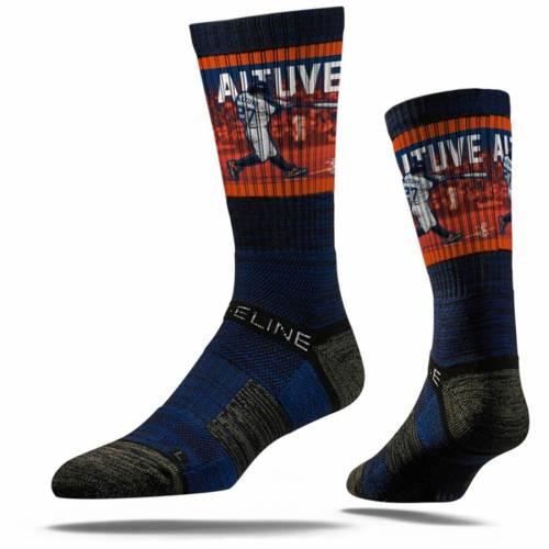 STRIDELINE ヒューストン アストロズ プレミアム ソックス 靴下 インナー 下着 ナイトウエア メンズ 下 レッグ 【 Jose Altuve Houston Astros Premium Player Crew Socks 】 Color