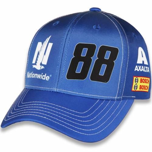 HENDRICK MOTORSPORTS TEAM COLLECTION バッグ キャップ 帽子 メンズキャップ メンズ 【 Alex Bowman Sublimated Uniform Adjustable Hat - Royal 】 Royal