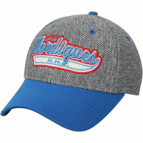 アディダス ADIDAS バッグ キャップ 帽子 メンズキャップ メンズ 【 Quebec Nordiques Culture Two Tone Felt Structured Flex Hat - Gray/blue 】 Gray/blue