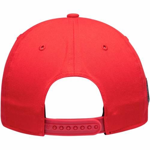 '47 スクリプト スナップバック バッグ 赤 レッド キャップ 帽子 メンズキャップ メンズ 【 Georgia Bulldogs Overhand Script Mvp Snapback Adjustable Hat - Red 】 Red