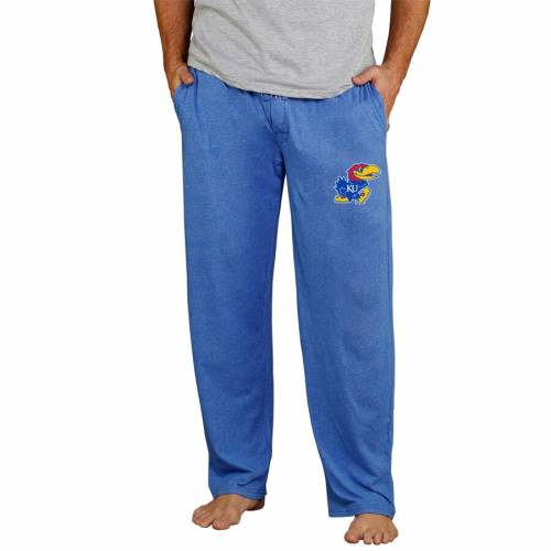 CONCEPTS SPORT カンザス ニット チャコール インナー 下着 ナイトウエア メンズ ナイト ルーム パジャマ 【 Kansas Jayhawks Quest Knit Pants - Charcoal 】 Royal