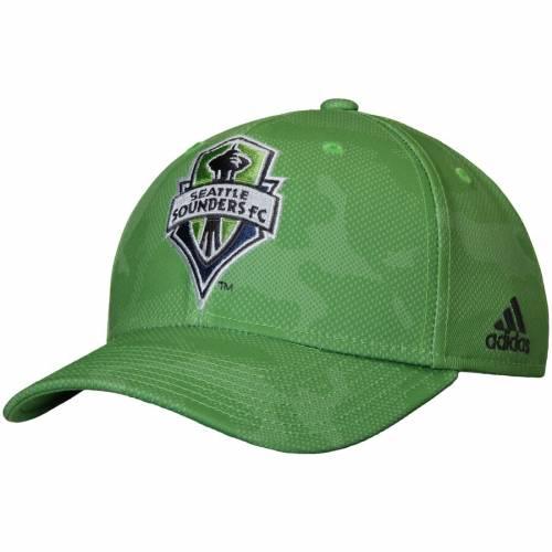 アディダス ADIDAS シアトル スナップバック バッグ 緑 グリーン キャップ 帽子 メンズキャップ メンズ 【 Seattle Sounders Fc Structured Snapback Adjustable Hat - Green 】 Green