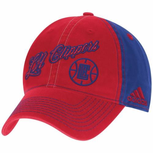 アディダス ADIDAS クリッパーズ バッグ キャップ 帽子 メンズキャップ メンズ 【 La Clippers Christmas Day Slouch Adjustable Hat - Red/royal 】 Red/royal