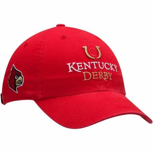 '47 ケンタッキー ルイビル カーディナルス カレッジ 赤 レッド バッグ キャップ 帽子 メンズキャップ メンズ 【 Kentucky Derby Louisville Cardinals College Town Clean Up Adjustable Hat - Red 】 Red
