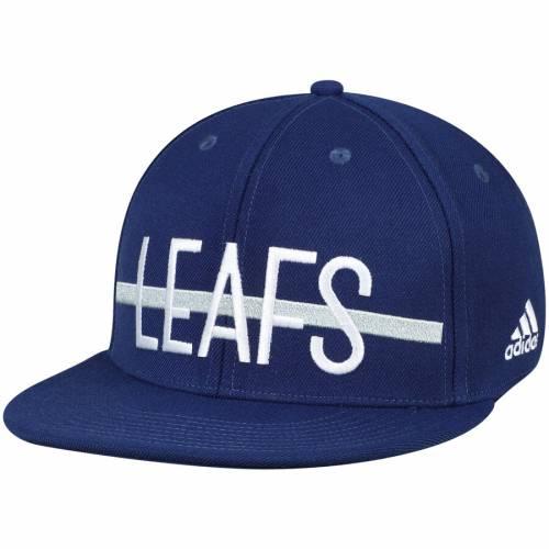 アディダス ADIDAS トロント 青 ブルー バッグ キャップ 帽子 メンズキャップ メンズ 【 Toronto Maple Leafs Culture Middle Bar Flex Hat - Blue 】 Blue