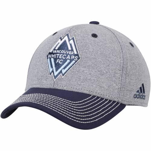 アディダス ADIDAS バッグ キャップ 帽子 メンズキャップ メンズ 【 Vancouver Whitecaps Fc Two Tone Structured Adjustable Hat - Gray/navy 】 Gray/navy