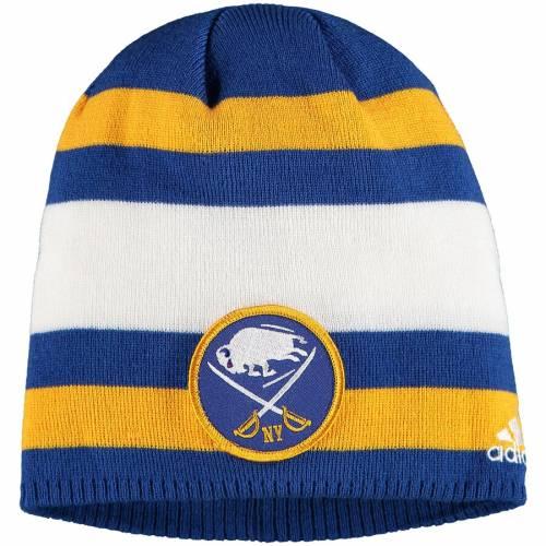 アディダス ADIDAS バッファロー ウィンター クラシック キャップ 帽子 ニット 青 ブルー バッグ メンズキャップ メンズ 【 Buffalo Sabres 2018 Winter Classic Beanie Knit Hat - Blue 】 Blue
