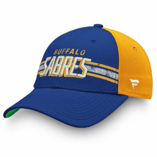 FANATICS BRANDED バッファロー クラシック バッグ キャップ 帽子 メンズキャップ メンズ 【 Buffalo Sabres True Classic Structured Adjustable Hat - Blue/gold 】 Blue/gold
