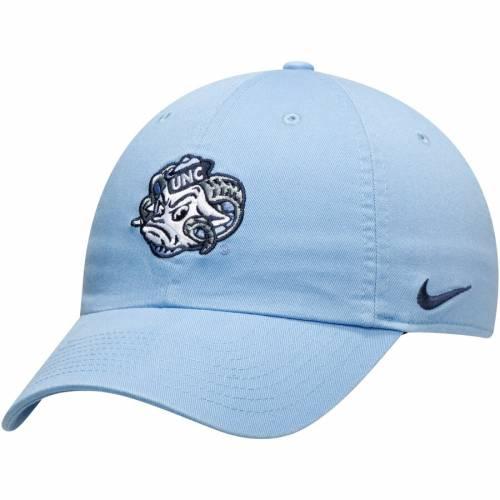 ナイキ NIKE ノース カロライナ チーム ロゴ パフォーマンス 青 ブルー バッグ キャップ 帽子 メンズキャップ メンズ 【 North Carolina Tar Heels Heritage 86 Team Logo Performance Adjustable Hat - Carolina Blu