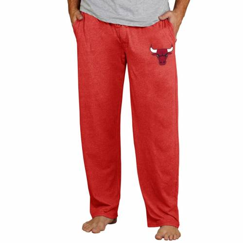 CONCEPTS SPORT シカゴ ブルズ ニット 赤 レッド インナー 下着 ナイトウエア メンズ ナイト ルーム パジャマ 【 Chicago Bulls Quest Knit Pants - Red 】 Red