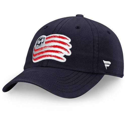 FANATICS BRANDED 紺 ネイビー バッグ キャップ 帽子 メンズキャップ メンズ 【 New England Revolution Fundamental Adjustable Hat - Navy 】 Navy