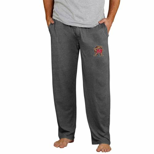 CONCEPTS SPORT メリーランド ニット チャコール インナー 下着 ナイトウエア メンズ ナイト ルーム パジャマ 【 Maryland Terrapins Quest Knit Pants - Charcoal 】 Charcoal