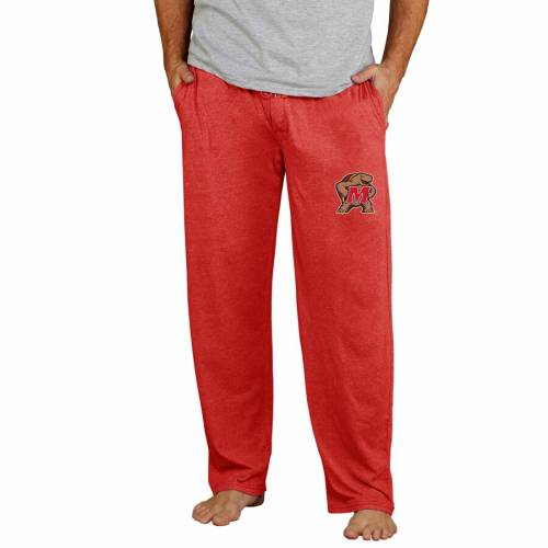 CONCEPTS SPORT メリーランド ニット チャコール インナー 下着 ナイトウエア メンズ ナイト ルーム パジャマ 【 Maryland Terrapins Quest Knit Pants - Charcoal 】 Red