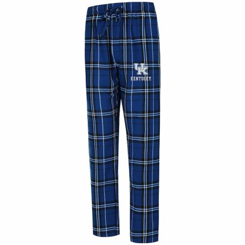 CONCEPTS SPORT ケンタッキー インナー 下着 ナイトウエア メンズ ナイト ルーム パジャマ 【 Kentucky Wildcats Big And Tall Hillstone Flannel Pants - Royal 】 Royal
