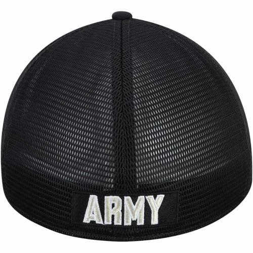 ナイキ NIKE 黒 ブラック スウッシュ スウォッシュ バッグ キャップ 帽子 メンズキャップ メンズ 【 Army Black Knights Aerobill Meshback Swoosh Flex Hat - Black 】 Black