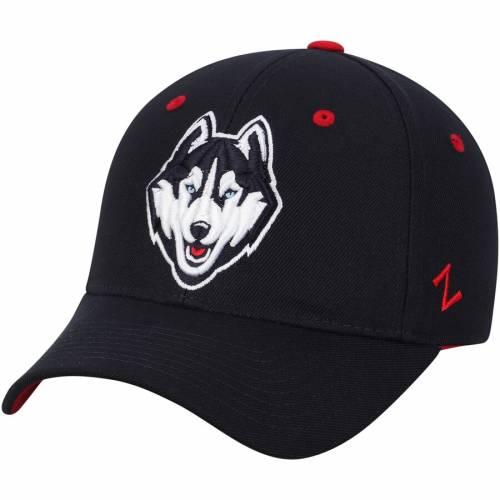 ZEPHYR コネチカット 紺 ネイビー バッグ キャップ 帽子 メンズキャップ メンズ 【 Uconn Huskies Fitted Hat - Navy 】 Navy
