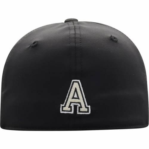 TOP OF THE WORLD 黒 ブラック バッグ キャップ 帽子 メンズキャップ メンズ 【 Army Black Knights Break Flex Hat - Black 】 Black