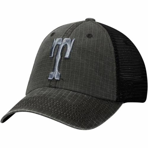 TOP OF THE WORLD テネシー トラッカー スナップバック バッグ チャコール キャップ 帽子 メンズキャップ メンズ 【 Tennessee Volunteers Vault Ploom Trucker Snapback Adjustable Hat - Charcoal 】 Charcoal