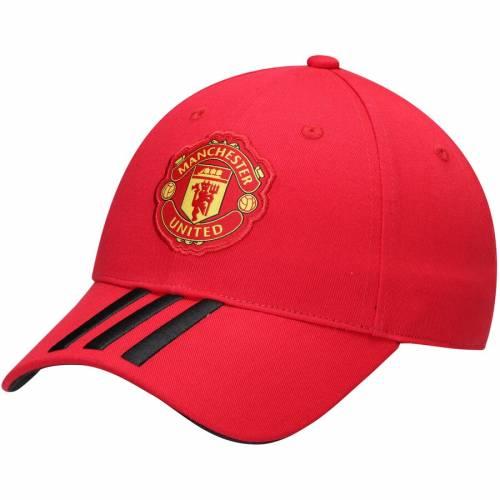 アディダス ADIDAS クラブ 赤 レッド バッグ キャップ 帽子 メンズキャップ メンズ 【 Manchester United Club 3-stripe Adjustable Hat - Red 】 Red